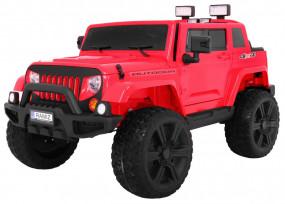 JEEP NA AKUMULATOR Pojazd elektryczny AUTO Mighty 4x4 CZERWONY HL-1668 HL-1668