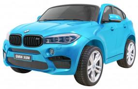 AUTO DWUOSOBOWE na akumulator Pojazd elektryczny BMW X6 M niebieski JJ2168EXL